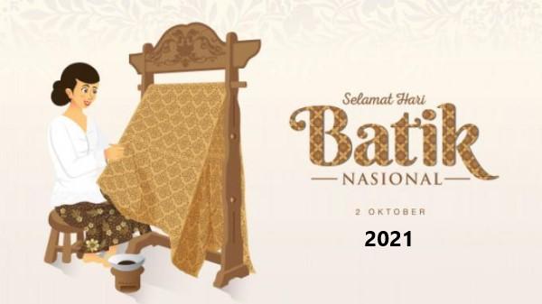 Hari Batik Nasional 2021